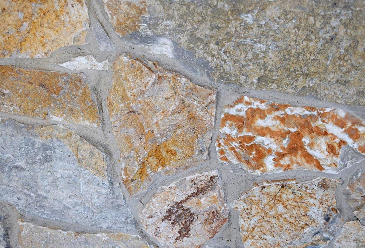 Quartz paving stones