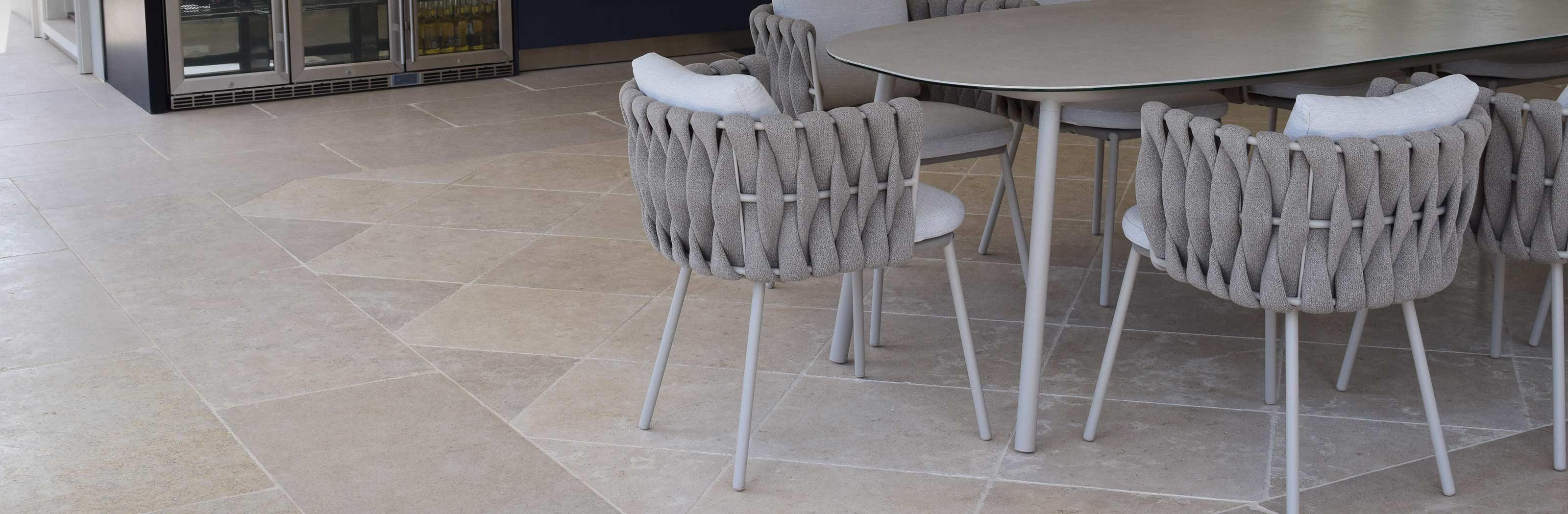 egyptian limestone flooring