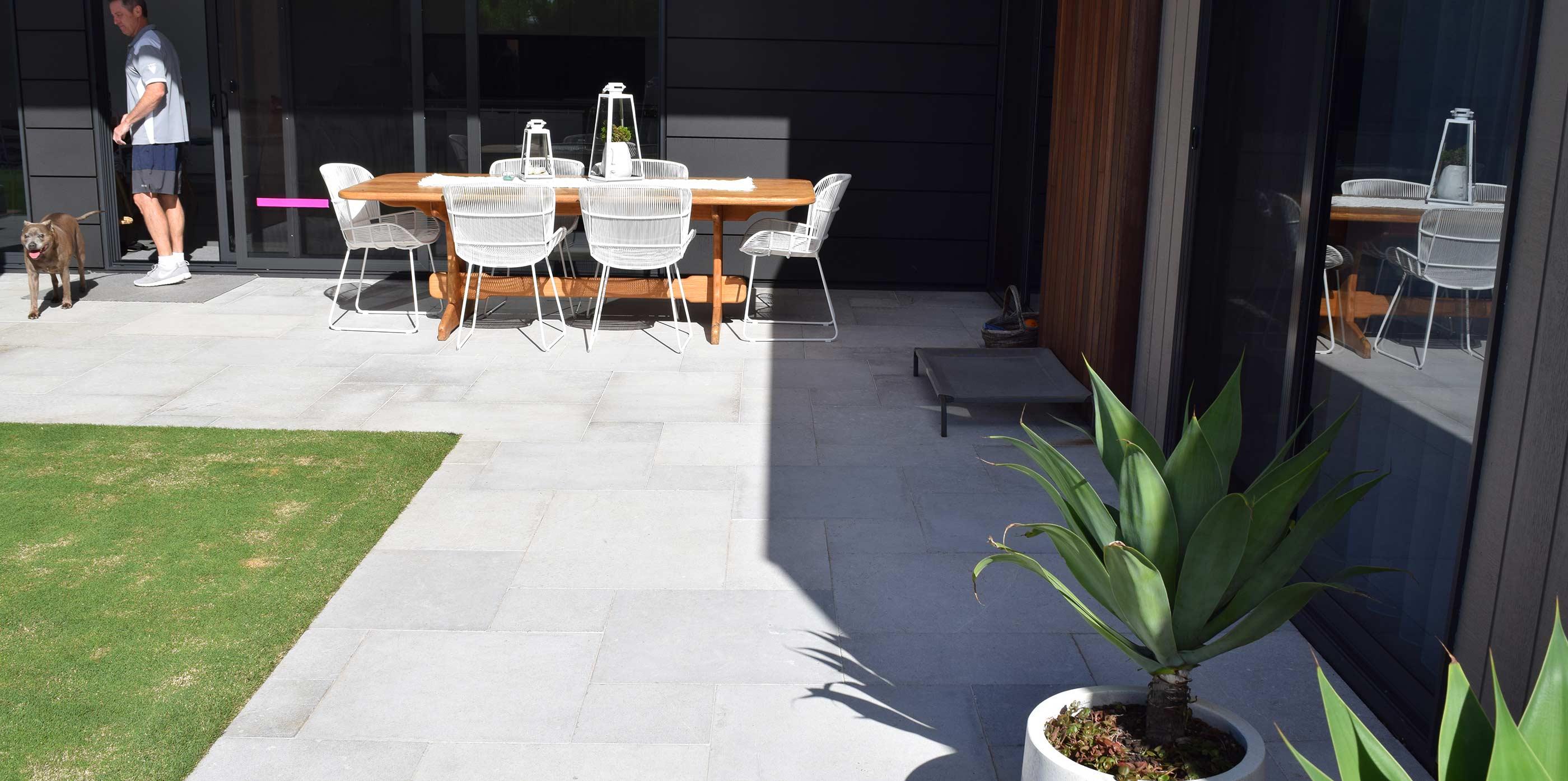 600 x 400 limestone pavers