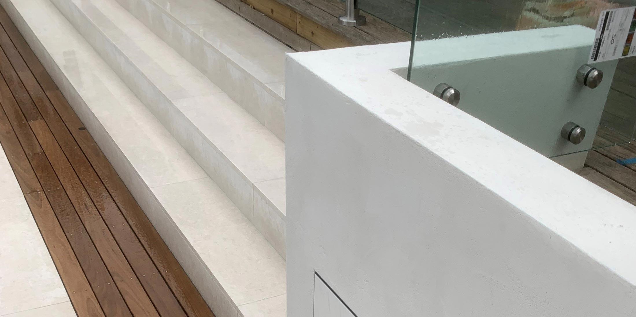 sandblasted limestone tiles