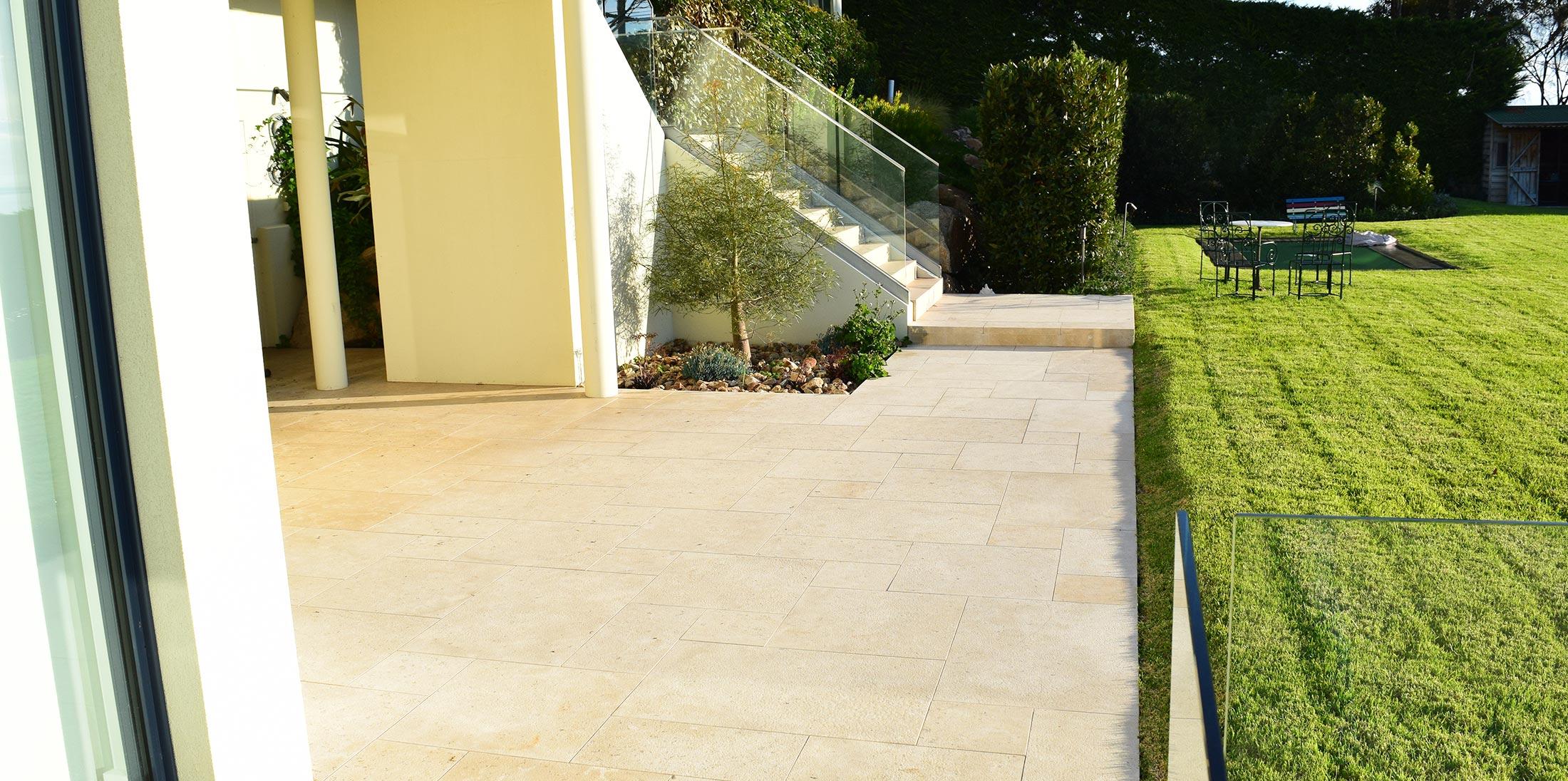 Limestone French Pattern